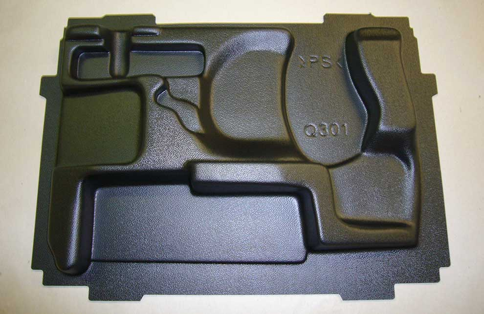 Kunststoff-Einsatz für Werkzeugkoffer